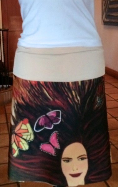 Front of Skirt.