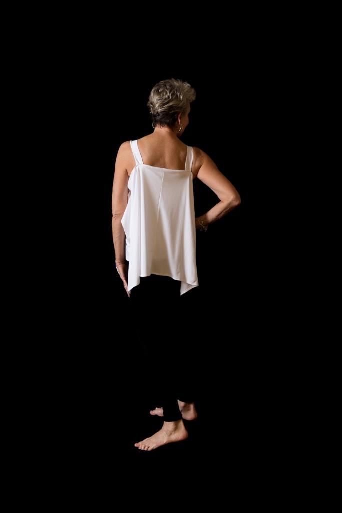 Backside of Artist Designed Shirt