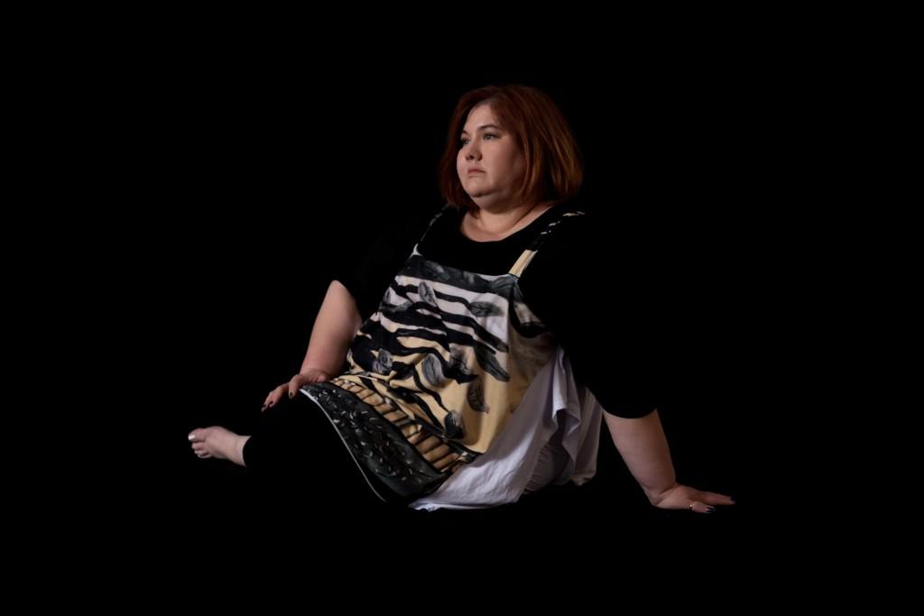 Artist Designed Jersey Knit Shirt with Aleene's Digital Print.