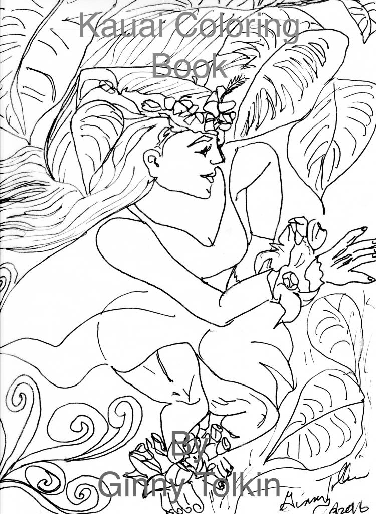 Kauai Coloring Book