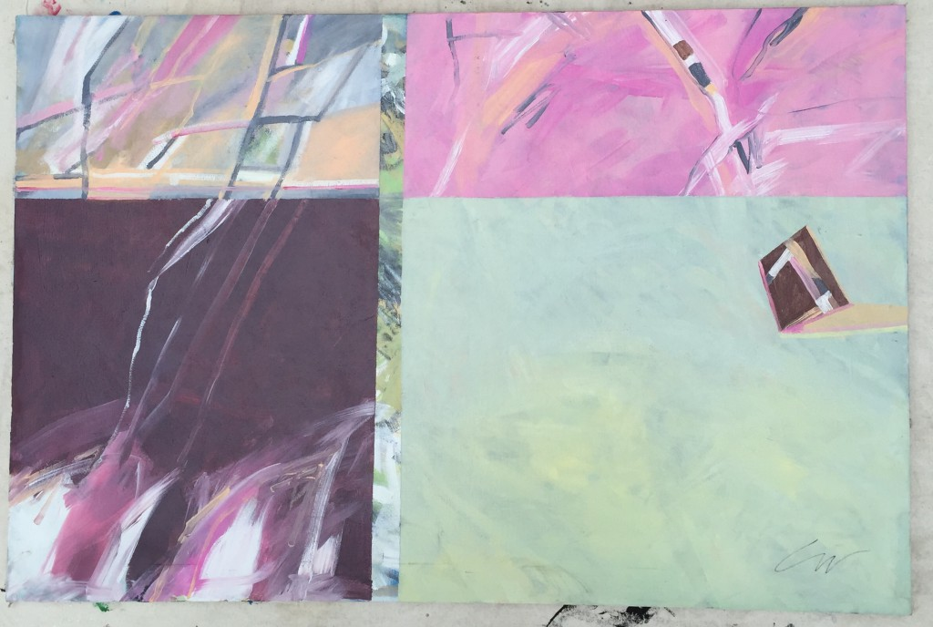 "36""x24"" Acrylic Painting by Vano Wirta"
