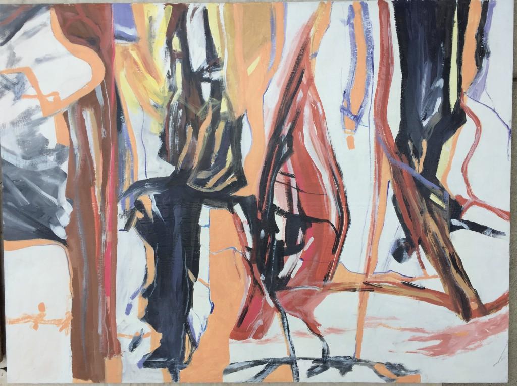 "36""x48"" Acrylic Painting by Vano Wirta"