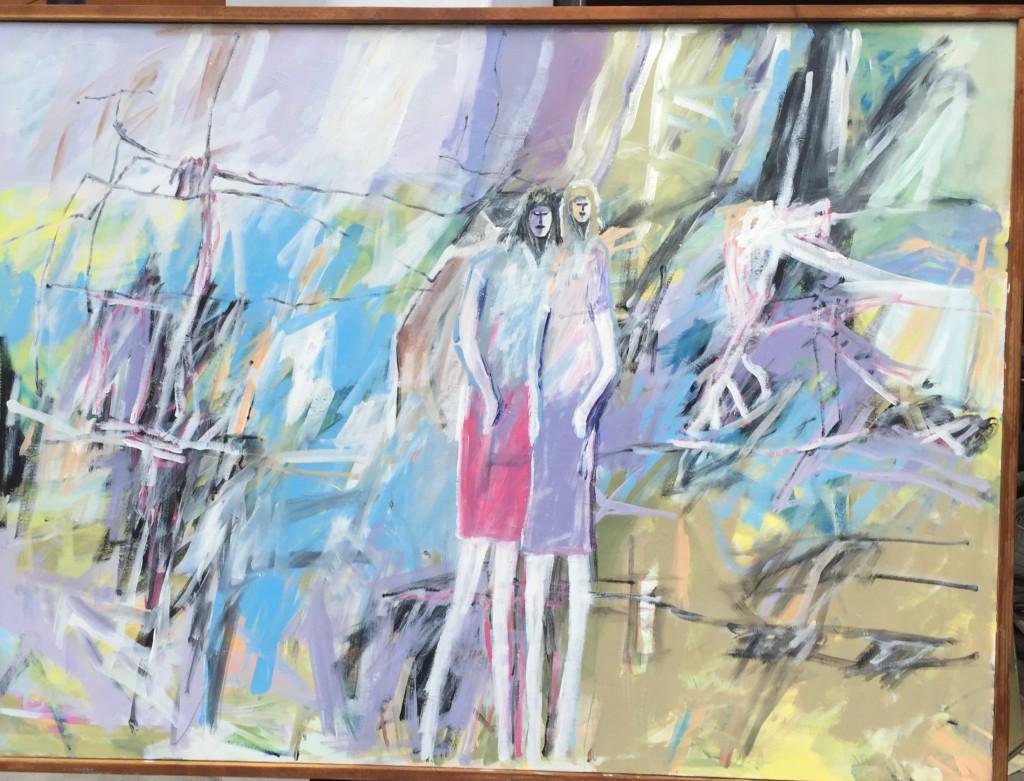 "48""x36"" Acrylic Painting by Vano Wirta"